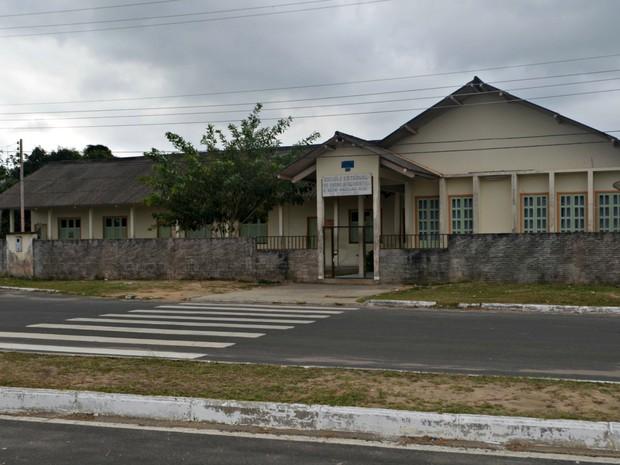 Escola Anselmo Maia (Foto: Adelcimar Carvalho/G1)