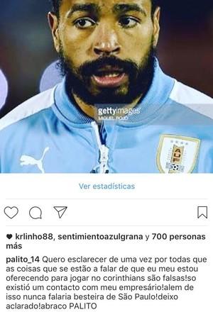 Alvaro Pereira no Instagram (Foto: Reprodução de Instagram)