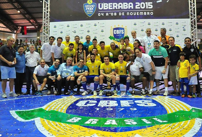 Brasil campeão grand prix futsal 2015 (Foto: Ricardo Artifon/CBFS)