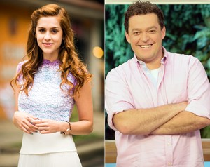 Sophia Abrahão e Fernando Rocha (Foto: João Miguel Júnior e Zé Carlos Cardeal / TV Globo)