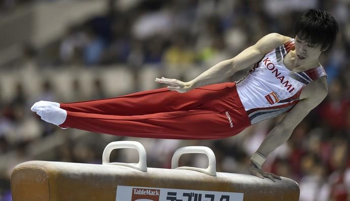 Kohei Uchimura é estrela do Mundial de ginástica (Foto: Getty Images)