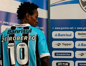 zé roberto grêmio grêmio apresentação (Foto: Diego Guichard/Globoesporte.com)