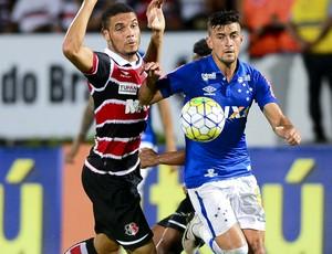 Cruzeiro e Santa Cruz; Arrascaeta  (Foto: Anderson Stevens/Light Press)