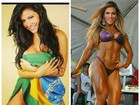 Verônica Araújo relembra passado e posta foto morena: 'Magrinha'