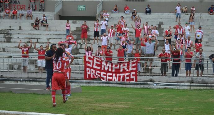 auto esporte x sousa, auto esporte-pb x sousa, estádio almeidão, almeidão (Foto: Juliana Bandeira / GloboEsporte.com/pb)