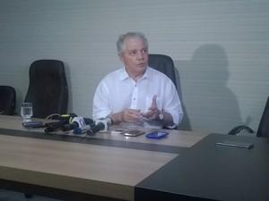 Ex-governador Neudo Campos (PP) foi condenado por peculato e desvio de dinheiro público (Foto: Valéria Oliveira/G1 RR)