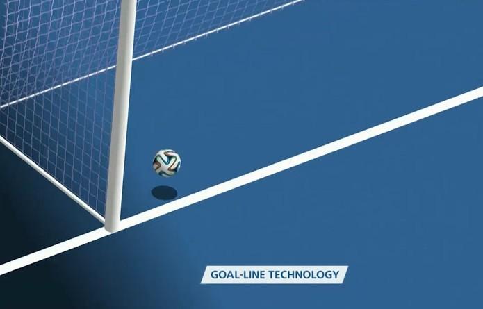 Tecnologia de Linha de Gol esclaree polêmica em jogo da França x Honduras, na Copa 2014 (Foto: Reprodução/Fifa)