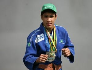 Luis Augusto Nogueira Filho, o Luisinho, judoca paraense. (Foto: Marcelo Seabra/O Liberal)