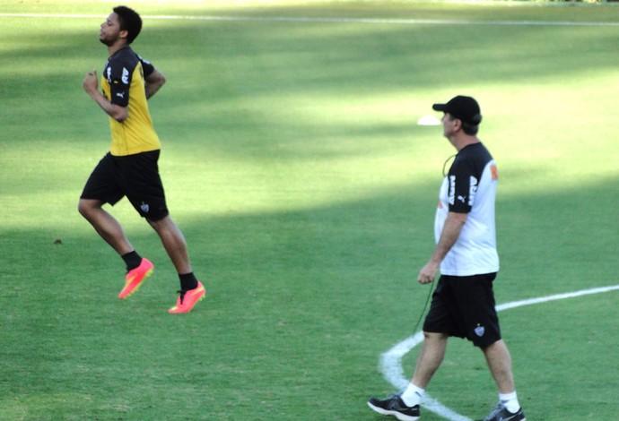 André e Levir Culpi Treino Atlético-mg (Foto: Léo Simonini)