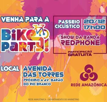 bike party manaus amazonas (Foto: Divulgação)