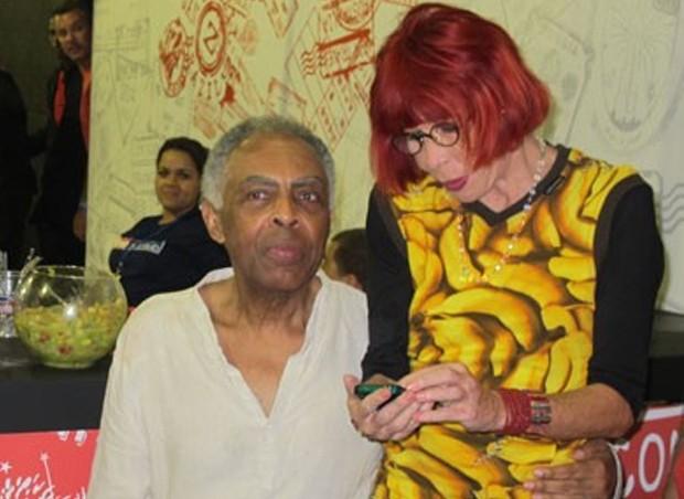 Gilberto Gil e Rita Lee (Foto: Felipe Abílio / EGO)