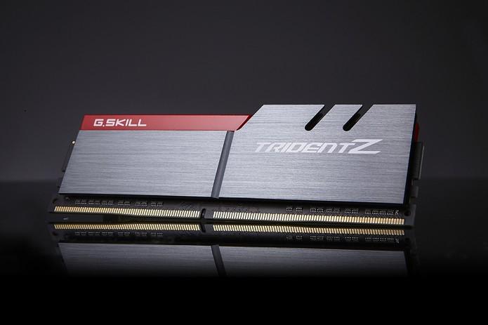 G.SKILL quebra barreira dos 4000 MHz de velocidade de memórias RAM (Foto: Divulgação/G.SKILL)