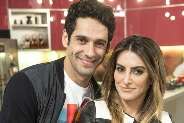 João Baldasserini e Cleo Pires  (Foto:  Renato Rocha Miranda/Globo)