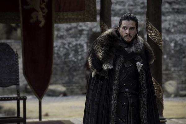 Jon Snow em cena do sétimo episódio de Game of Thrones (Foto: Divulgação)
