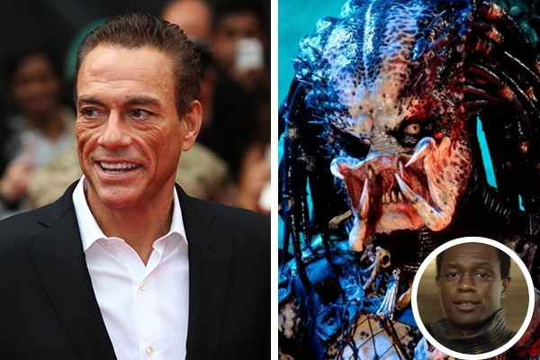 Jean-Claude Van Damme perdeu o papel de Predador para Kevin Peter Hall (Foto: Getty Images / Twitter)