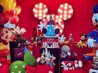 Veja decoração da festinha de 1 ano do filho de Ana Hickmann
