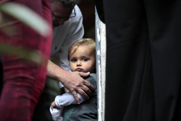 Bento, neto de Ana Maria Braga (Foto: Paduardo / AgNews)