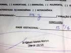 Grávida de gêmeos fez ultrassom com falso médico preso: 'Não suspeitei'