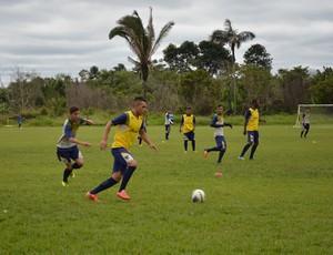 Treino do Rondoniense SC (Foto: Emanuele Madeira/GloboEsporte.com)