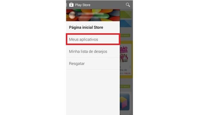Acesso a lista de aplicativos pagos e gratuitos baixados (Foto: Reprodução/Lívia Dâmaso)