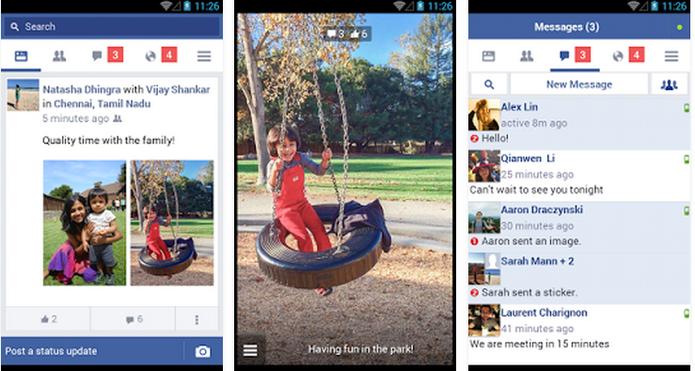 Facebook Lite tem funcionalidades básicas em app mais leve  (Foto: Divulgação/ Facebook)
