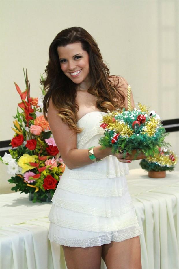 Renata Santos (Foto: Clayton Militão e Thyago Andrade / Foto Rio News)