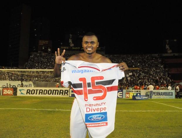 Sandro Manoel Santa Cruz (Foto: Aldo Carneiro / Pernambuco Press)