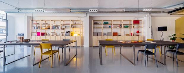 Um descolado escritorio compartilhado em Barcelona (Foto: Nieve Productora Audiovisual / d)