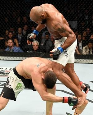 Yoel Romero Chris Weidman UFC 205 (Foto: Getty Images)