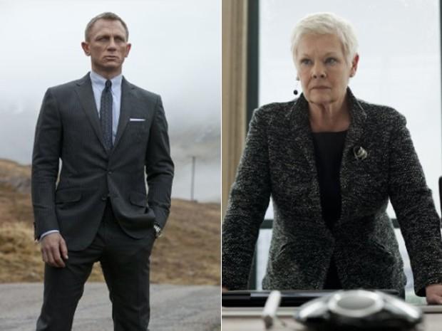 Daniel Craig e Judi Dench em '007 - Operação Skyfall' (Foto: Divulgação/United Artists)