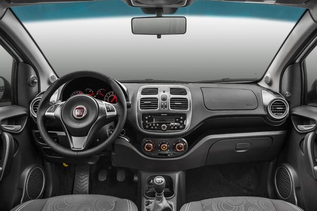 Fiat Grand Siena 2017 (Foto: Divulgação)