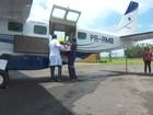 Bebê nasce prematuro e é transferido de avião para não morrer, em RO