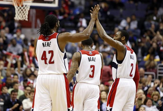 Nenê Washington Wizards NBA Basquete (Foto: Agência AP)