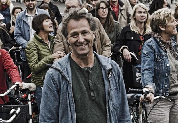 Diretor Fredrik Gertten durante gravação do documentário (Foto: Michel Thomas)