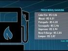 Motoristas do interior do RJ aguardam queda de preço dos combustíveis