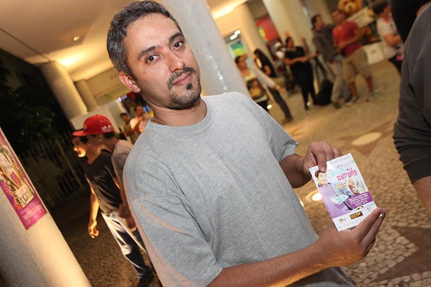 Eduardo Alves, vencedor da promoção no tvtribuna.com (Foto: José Luiz Borges)