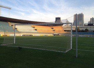 TR - Estádio Serra Dourada (Foto: Guilherme Gonçalves / GloboEsporte.com)