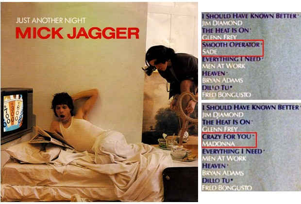 Combo Mick Jagger e prensagens