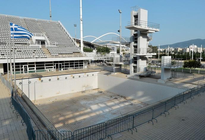 abandono estruturas jogos olímpicos de Atenas 10 anos (Foto: Agência Getty Images)
