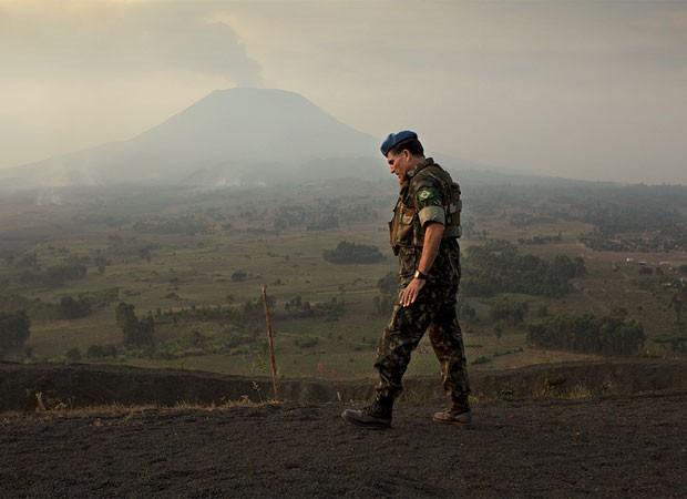 Após comandar missão de paz no Haiti, Santos Cruz assumiu em maio missão de vencer grupos armados no Congo (Foto: Sylvain Liechti/ONU/divulgação)