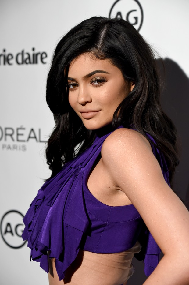 Kylie Jenner em evento em Los Angeles, nos Estados Unidos (Foto: Frazer Harrison/ Getty Images/ AFP)