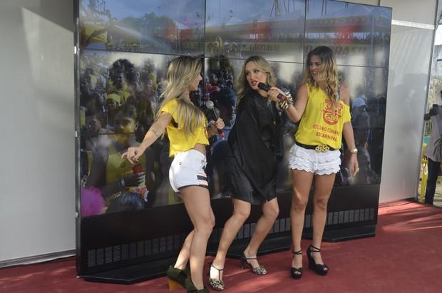 Cláudia Leitte, Flávia Vianna e Lívia Lemos (Foto: Fred Pontes/ Divulgação)