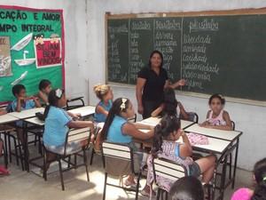 professora do marilda em Montes Claros (Foto: Thiago  França/G1)