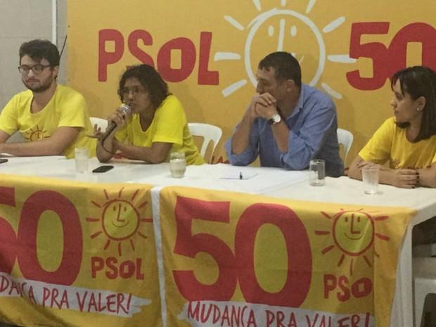 PSOL define assistente social para disputar prefeitura  de Campo Grande (Foto: Alysson Maruyama/TV Morena)