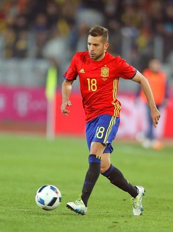 """""""V�rus Fifa"""" ataca, e Barcelona pode perder Jordi Alba contra o Real Madrid"""