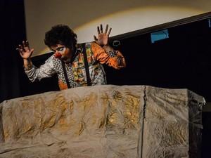 Peça contrastes de um clown é encenada em Campina Grande (Foto: Divulgação )