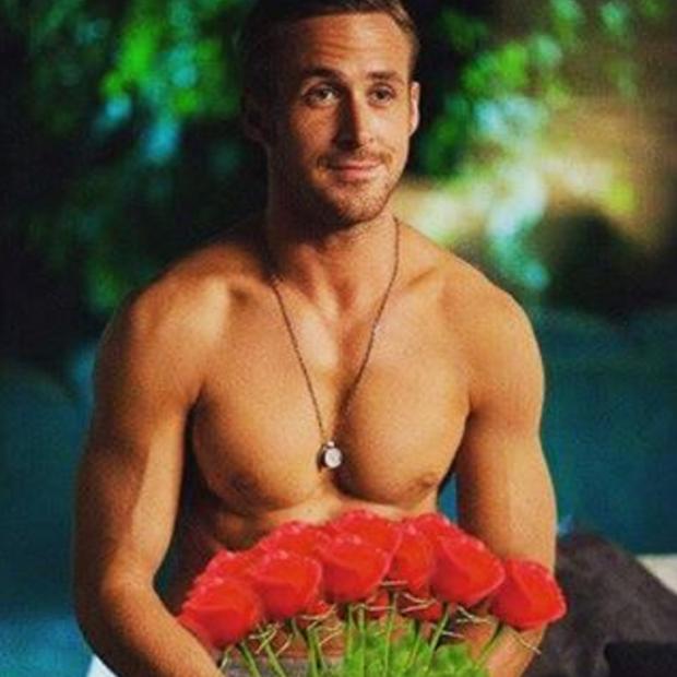 Ryan Gosling em foto postada no Instagram (Foto: Reprodução/Instagram)