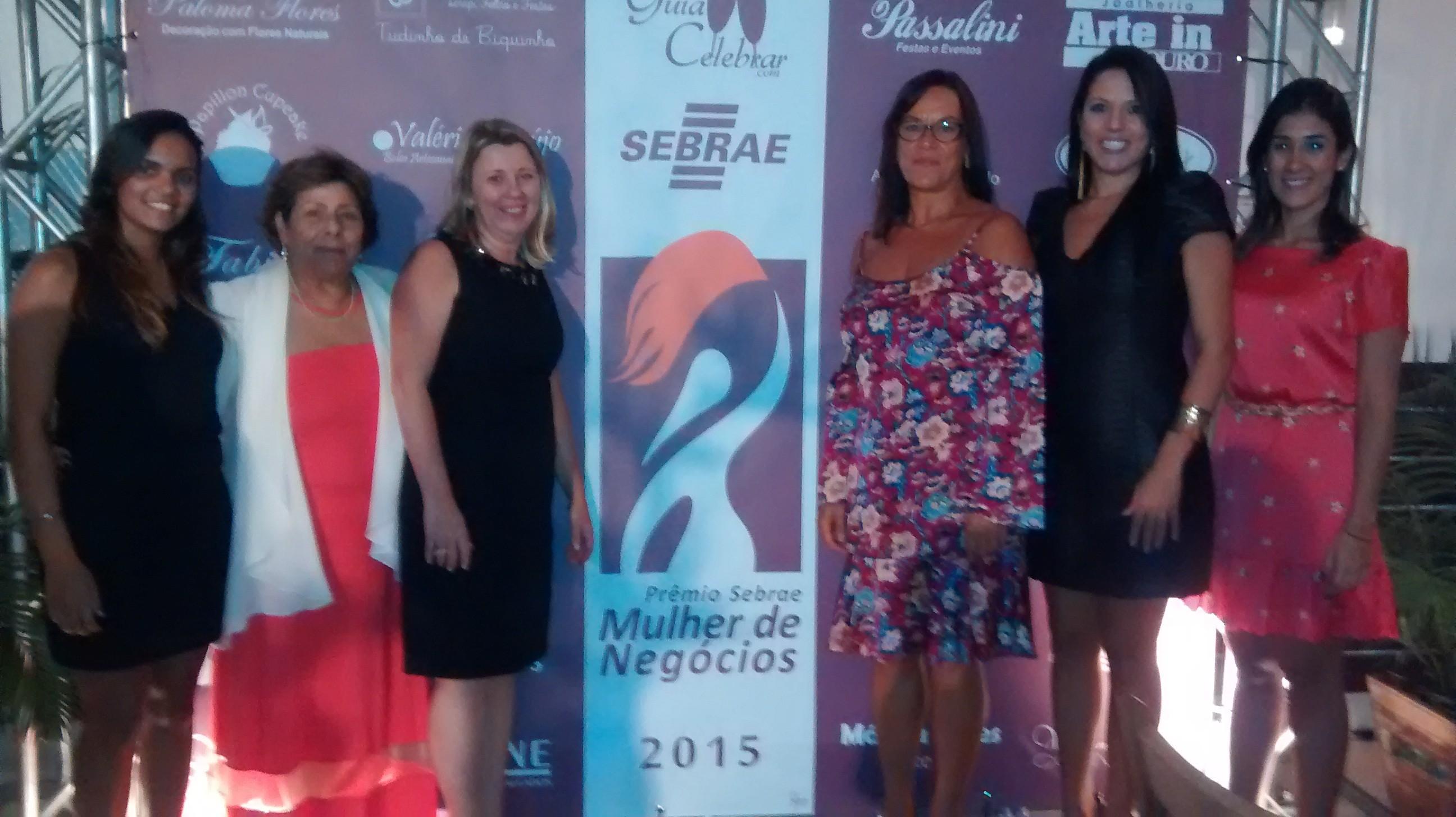 Equipe do Sebrae regional recebeu as mulheres empreendedoras em Cabo Frio  (Foto: Ariane Marques/G1)
