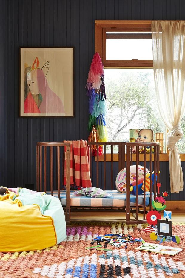 Décor do dia: quarto infantil com cores vibrantes (Foto: Divulgação)