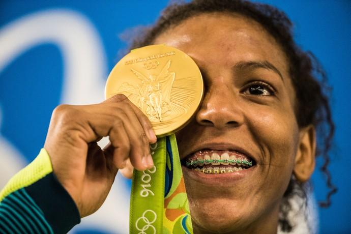 Rafaela Silva, judô, medalha ouro (Foto:  Danilo Verpa/NOPP)